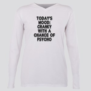 Cranky With A Chance Of Plus Size Long Sleeve Tee