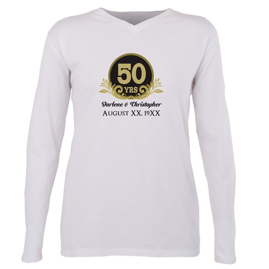 50th Anniversary Personalized