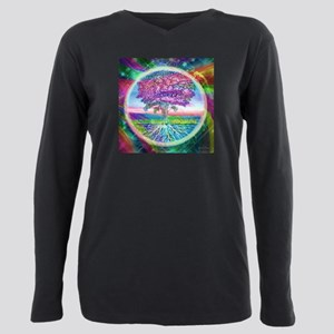 Tree of Life Blessings Plus Size Long Sleeve Tee
