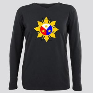 I am Filipino Plus Size Long Sleeve Tee