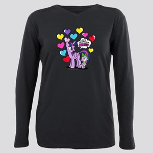 MLP Isn't Friendship Mag Plus Size Long Sleeve Tee