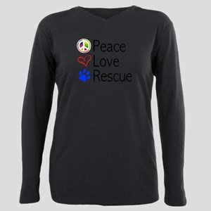Peace Love Rescue T-Shirt
