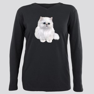 white Persian Cat T-Shirt