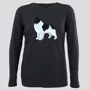 landseer Plus Size Long Sleeve Tee
