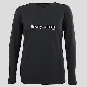 Boyfriend Plus Size Long Sleeve T-Shirts - CafePress