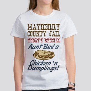 Mayberry County Jail Aunt Bee Women's Favorite Tee