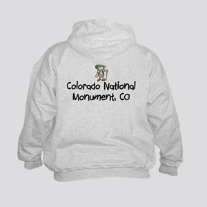 CO Nat Monument (Boy) Kids Hoodie