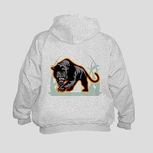 45890dc0 Panther Football Kids Hoodies & Sweatshirts - CafePress
