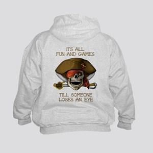 It's all fun and games Kids Hoodie