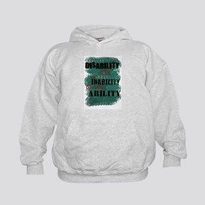 Disability is... Kids Hoodie