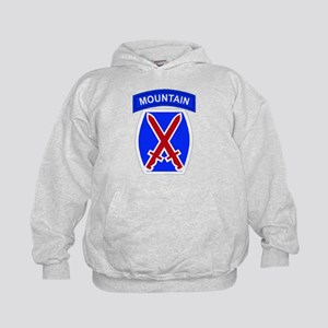 10th MOUNTAIN DIVISION Kids Hoodie