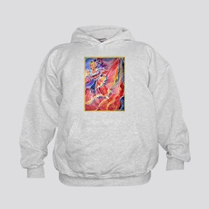 Mexican Dancer, bright, Kids Hoodie