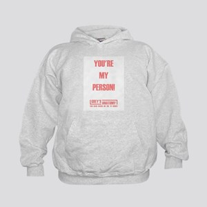 YOU'RE MY PERSON! Kids Hoodie