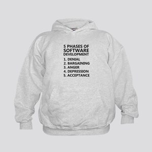 5 Phases Software Development Sweatshirt