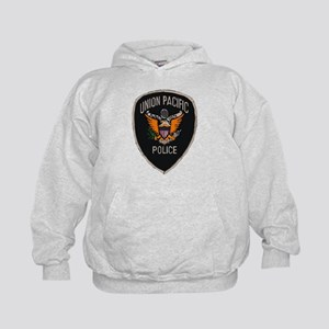 Union Pacific Police patch Kids Hoodie