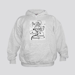 Love of Family Kids Hoodie