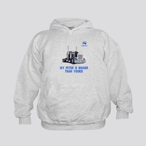 My Peter is bigger than yours Kids Hoodie