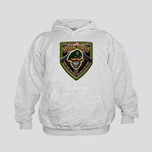 US Army Special Forces Shield Kids Hoodie