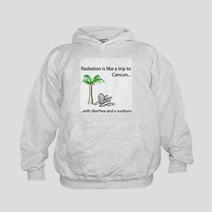 Radiation and Cancun Kids Hoodie