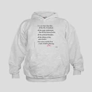 Moliere on Swing Dance Kids Hoodie