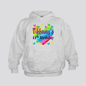 PERSONALIZED 11TH Kids Hoodie