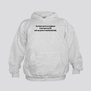 You're An Engineer Kids Hoodie