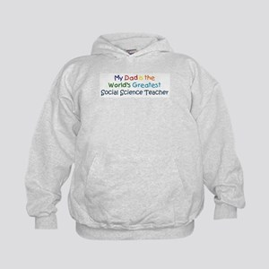 Greatest Social Science Teach Kids Hoodie