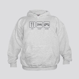 Eat Sleep Game Kids Hoodie
