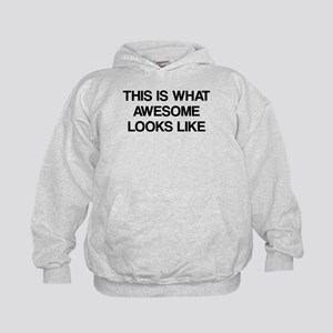 This is what Awesome looks like Kids Hoodie