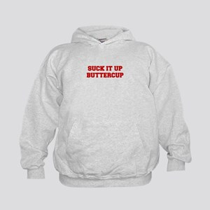 SUCK-IT-UP-BUTTERCUP-FRESH-RED Hoodie