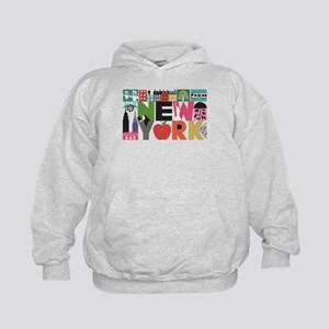 Unique New York - Block by Block Hoodie