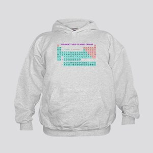 Periodic Table of Music Groups Hoodie