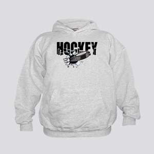 hockey101bigrectangle Kids Hoodie