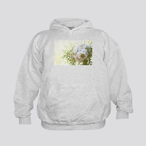 Bouquet of daisies in LOVE Kids Hoodie