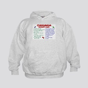 Chihuahua Property Laws 2 Kids Hoodie
