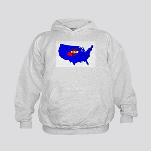 State of Colorado Kids Hoodie