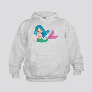 Cute Little Mermaid Kids Hoodie