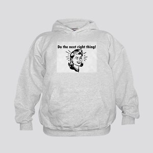 Do the Next Right Thing Kids Hoodie