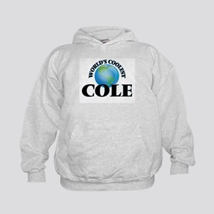 World's Coolest Cole Kids Hoodie