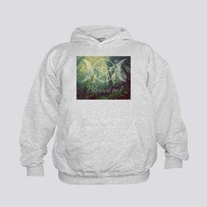Pentacle Forest Blessed Be Hoodie