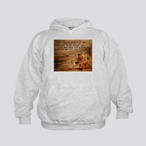 What Really Counts - John F Kennedy Kids Hoodie