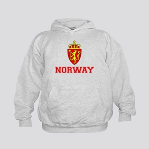 Norway Coat of Arms Kids Hoodie