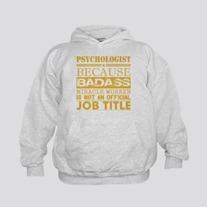 Psychologist Because Miracle Worker Not Sweatshirt