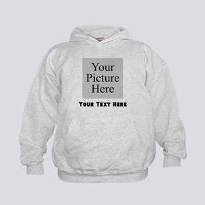 Custom Picture And Text Hoodie