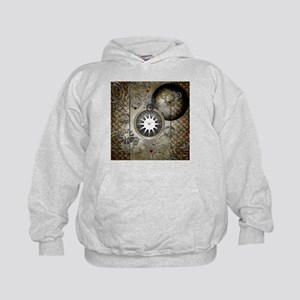 Steampunk, clocks and gears Hoodie