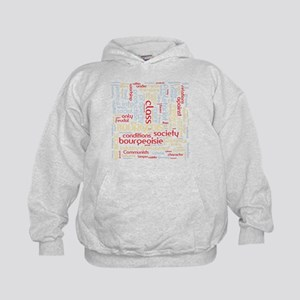 Communist Manifesto Word Cloud Hoodie