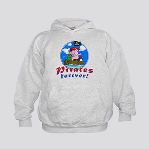 pirates forever pig, frog penguin Sweatshirt