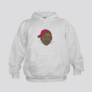 African-American Rapper Crying Drawing Sweatshirt