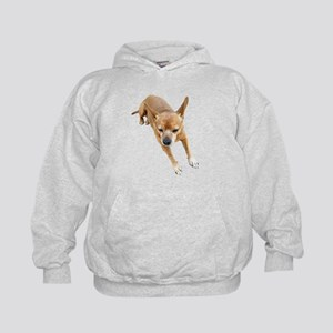 Chiweenie On Break Kids Hoodie
