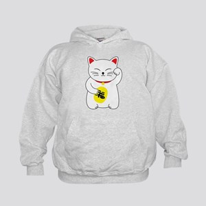 Maneki Neko Lucky Cat Sweatshirt